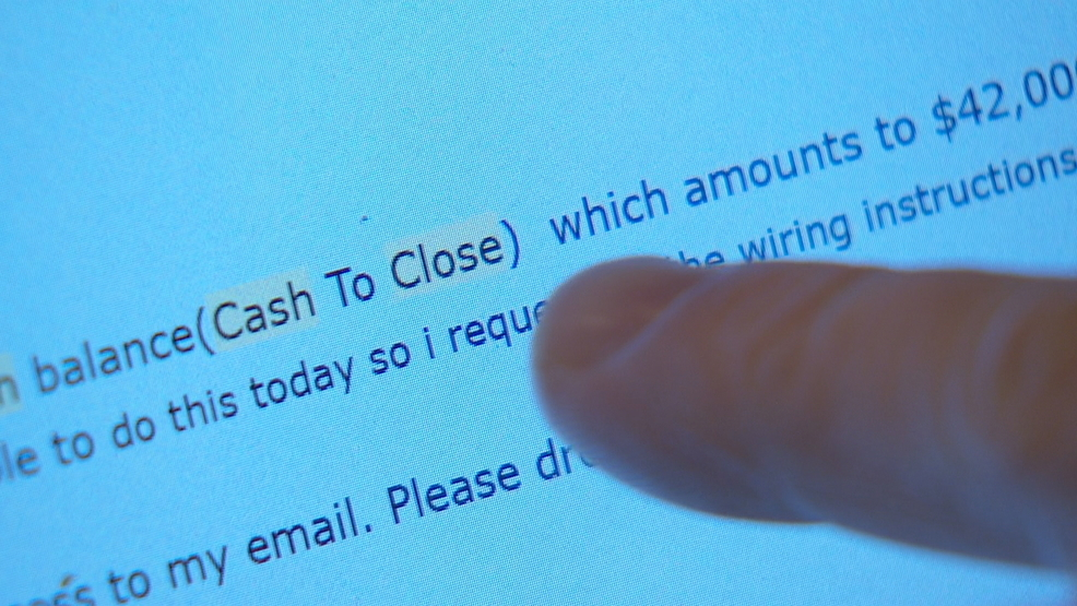 Email scams target real estate industry, intercept buyer closing money at last minute