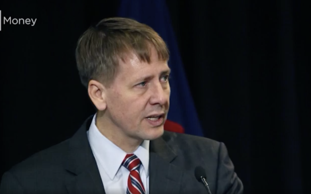 New CFPB director reverses efforts to change the agency's name